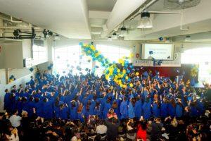 ボドウェル高校卒業式